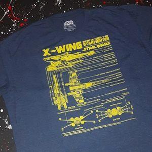 Star Wars | X-wing starfighter shortsleeve tee
